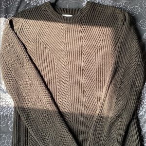 Olive green H&M sweater